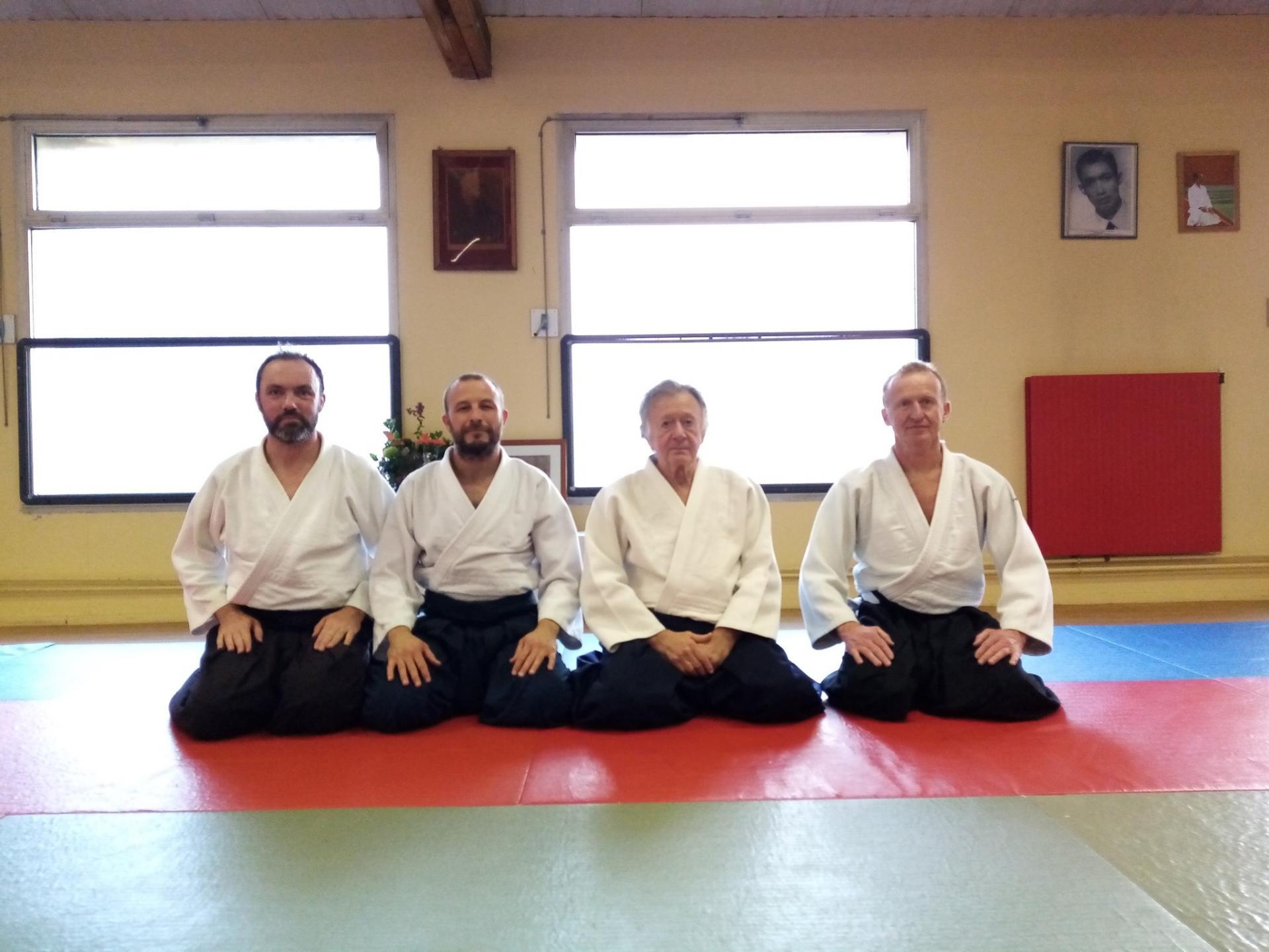 Ora aïkido représenté à Bures au côté de Gérard Blaize